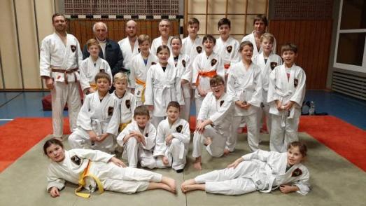 Gruppenbild 2020, Judo Club Offenmbach-Hundheim